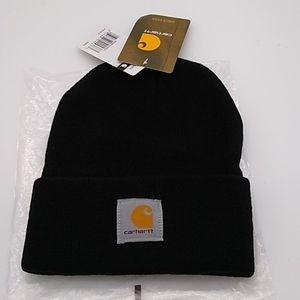 Carhartt Accessories - Carhartt Black Knit Winter Hat